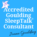 Contact page: Accredited SleepTalk Consultant logo